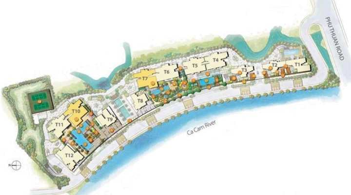 The View Riviera Vietnam-Site Plan
