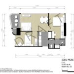 ideo-mobi-asoke-floorplan-2bedroom-55sqm