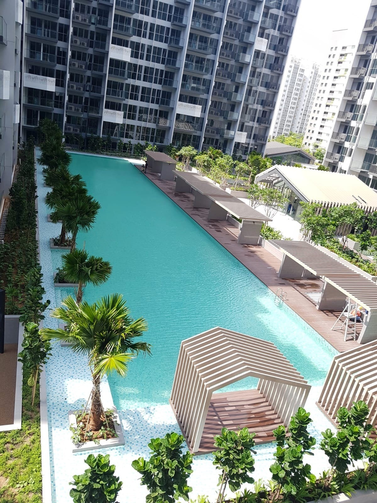 Alps Tampines completing- Actual Pool