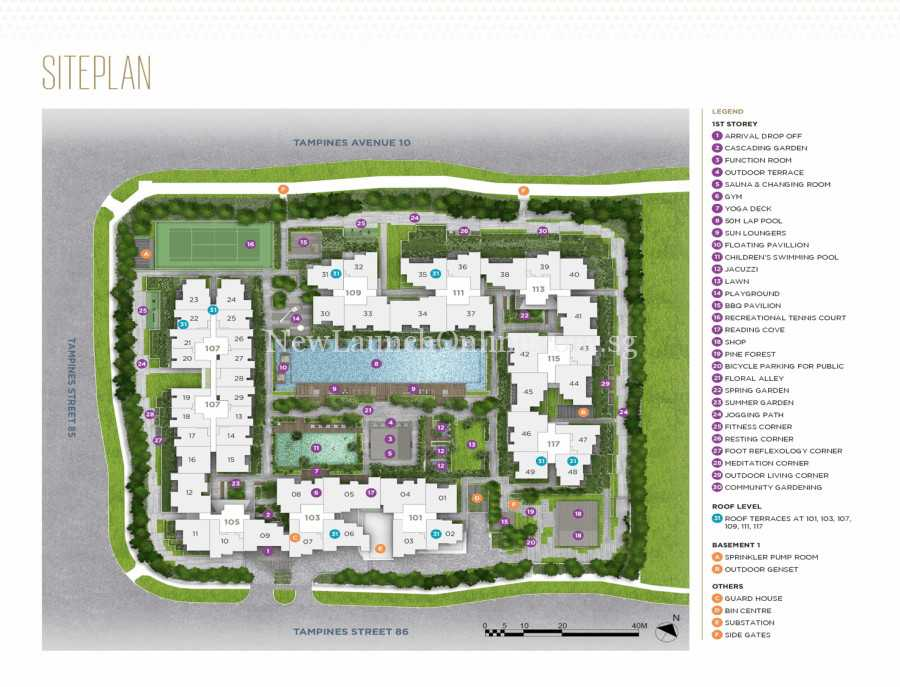 the-alps-residences-site-plan