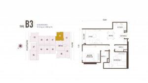 suasana-iskandar-floor-plan-type-b3