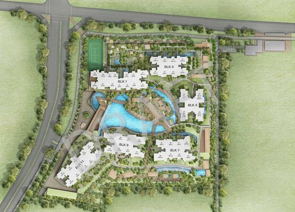Grandeur-Park-Site-plan