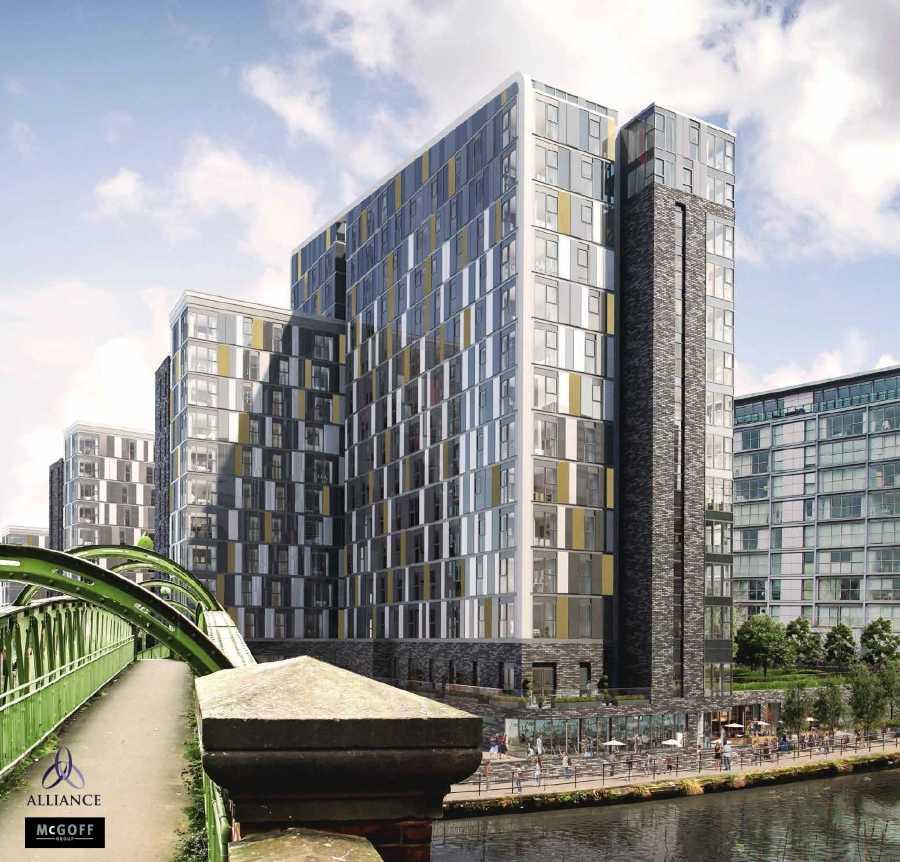 Downtown Apartments On De La Montagne Montreal: Downtown-Manchester-Apartments-facade