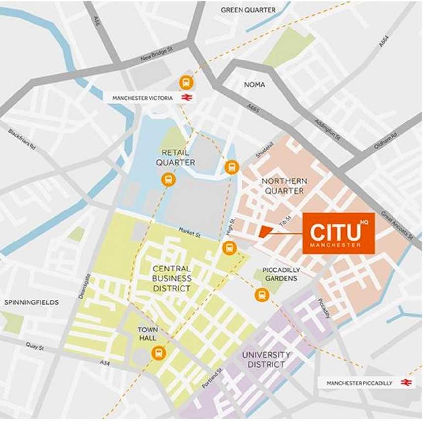 Citu NQ Apartment Manchester  Developer Appointed