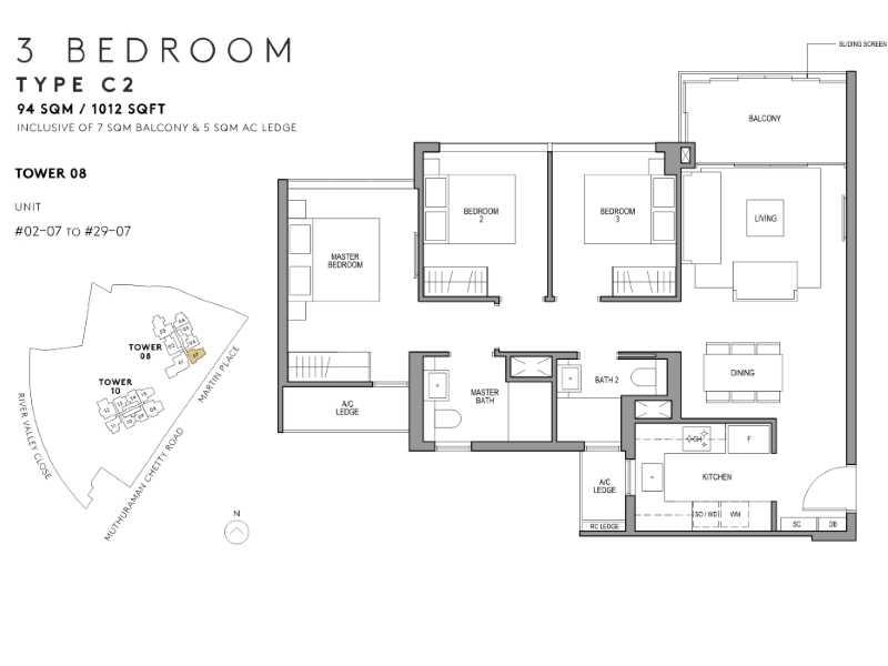Martin-Modern-Floor-Plan-3-bedroom-1012-sqft-Stack-7