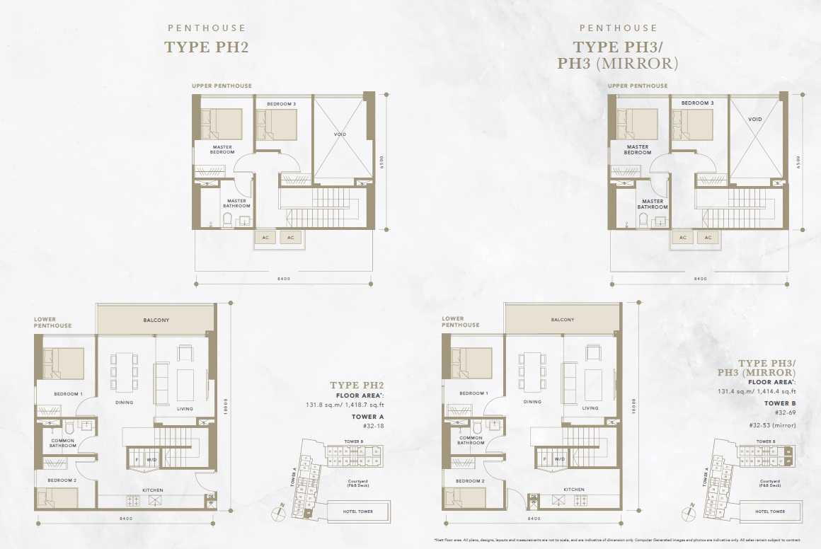 Oxley-Convention-City-Batam-Residential-Floor Plan-Penthouse2
