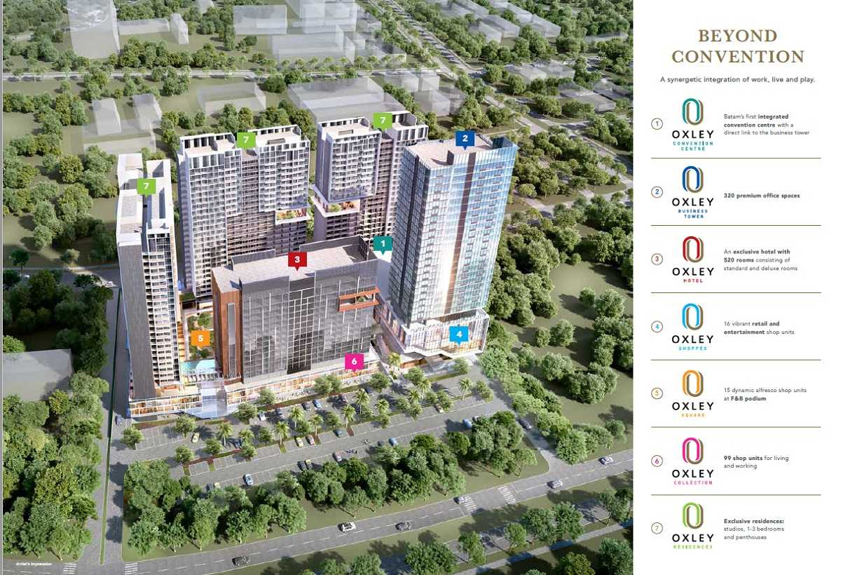 Oxley-Convention-City-Batam-building-plan
