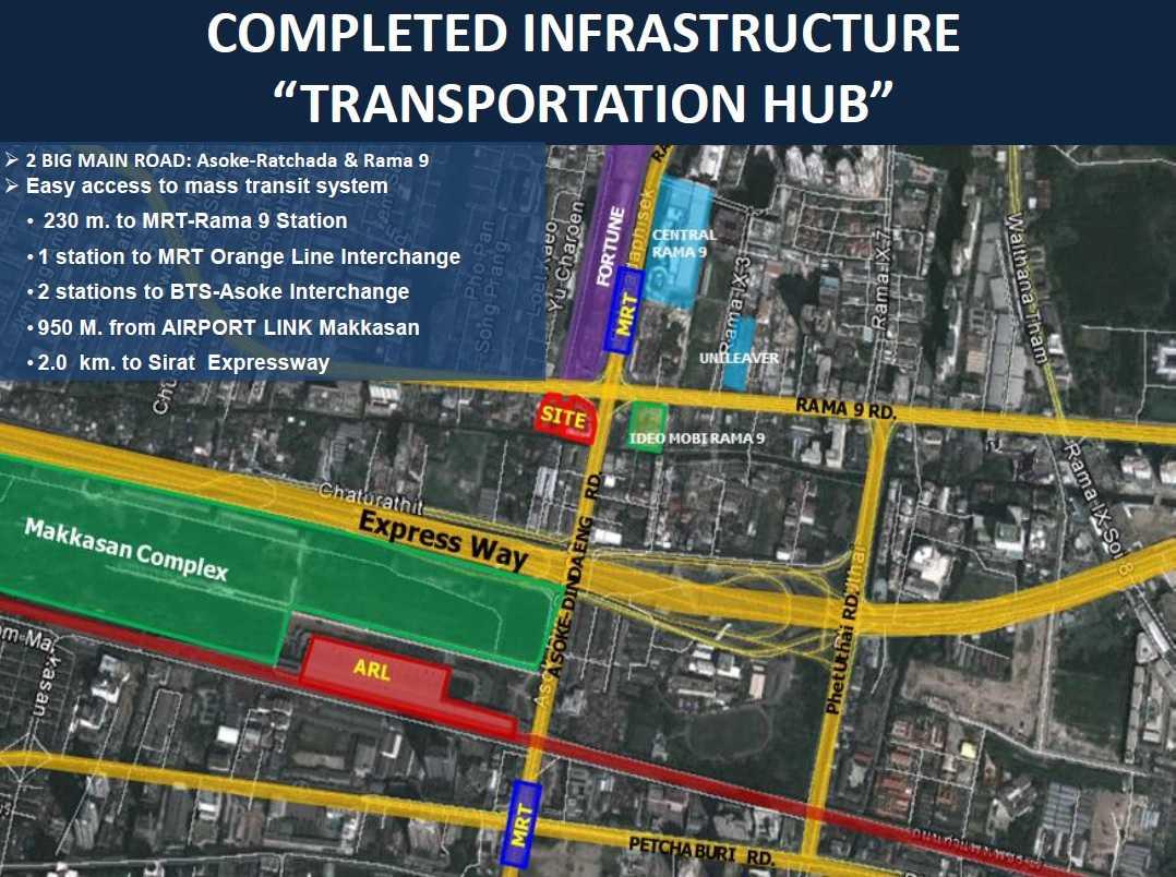 Ashton-Asoke-Rama-9-Infrastructure