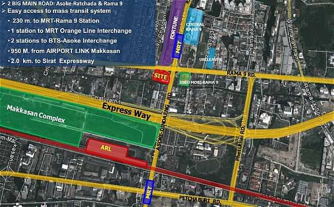 Ashton-Asoke-Rama-9-location-summary