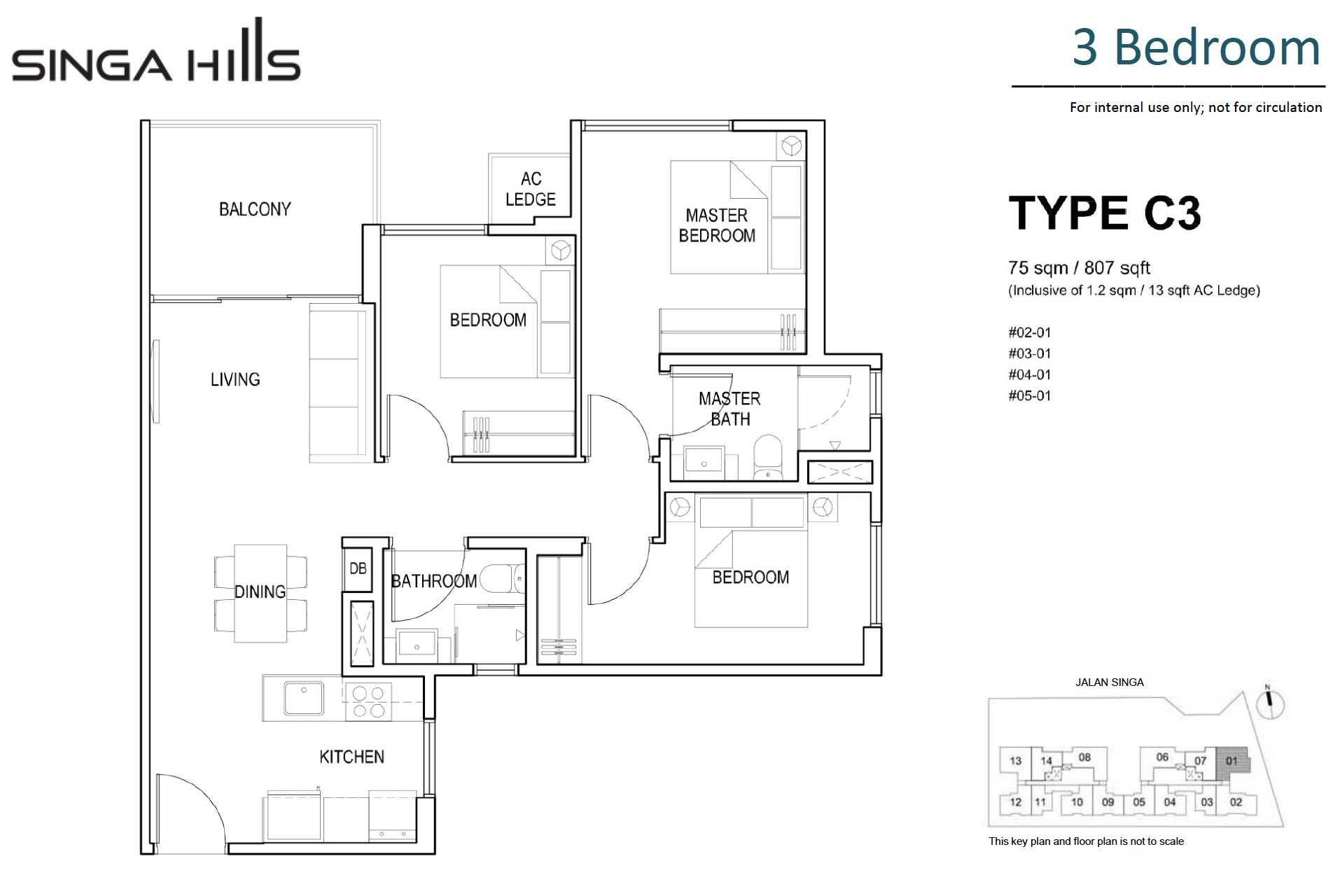 singa-hills-floor-plan-3BR-C3