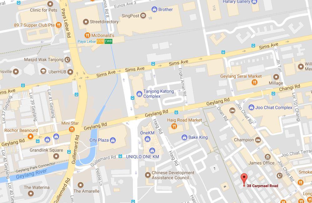 38-Carpmael-Road-Condo-Location-Map