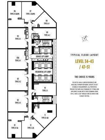 OxleyTowersKLCC-Sosofitel-floorplate