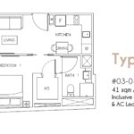 Rezi35-Floorplan-1-Bedroom-Type-H