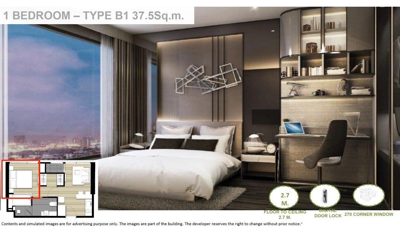 Ideo-Mobi-Rama-4-1BR floor plan -2