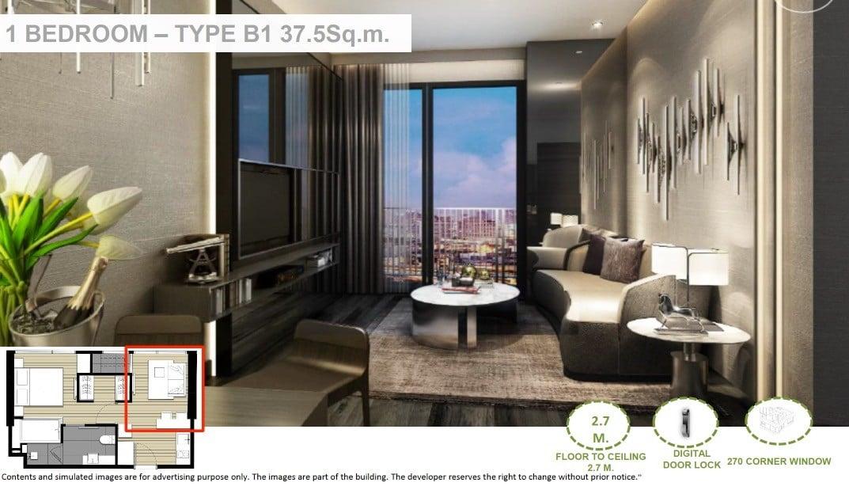 Ideo-Mobi-Rama-4-1BR floor plan