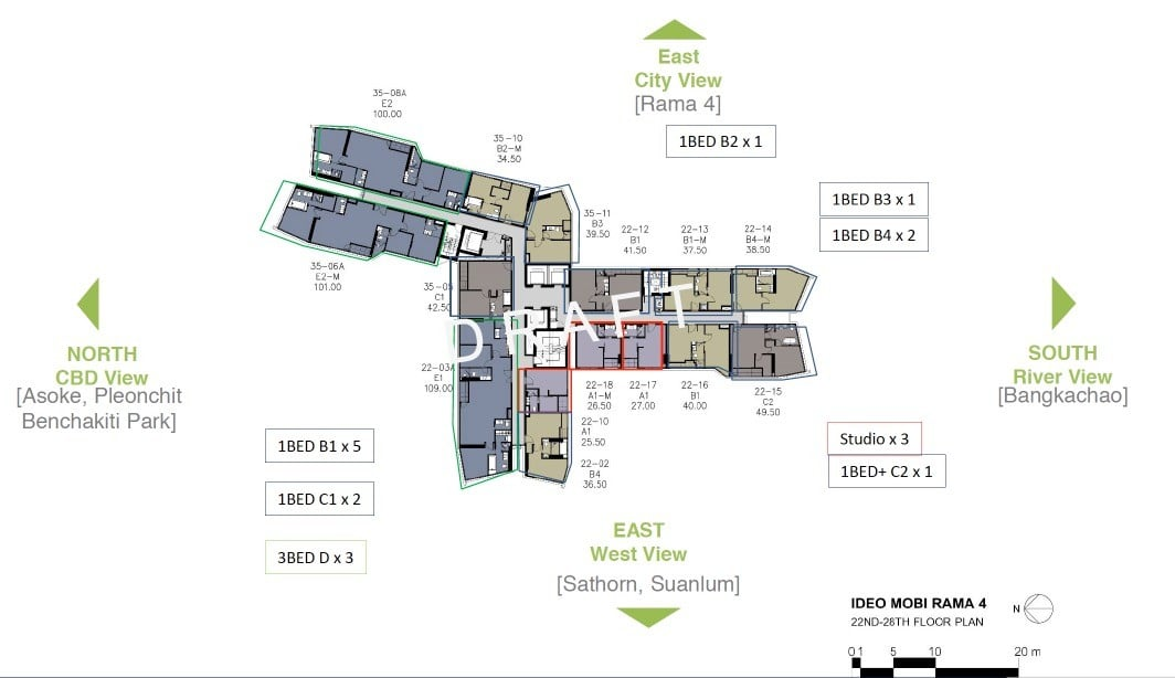Ideo-Mobi-Rama-4-typical floor plan 22 to 28th