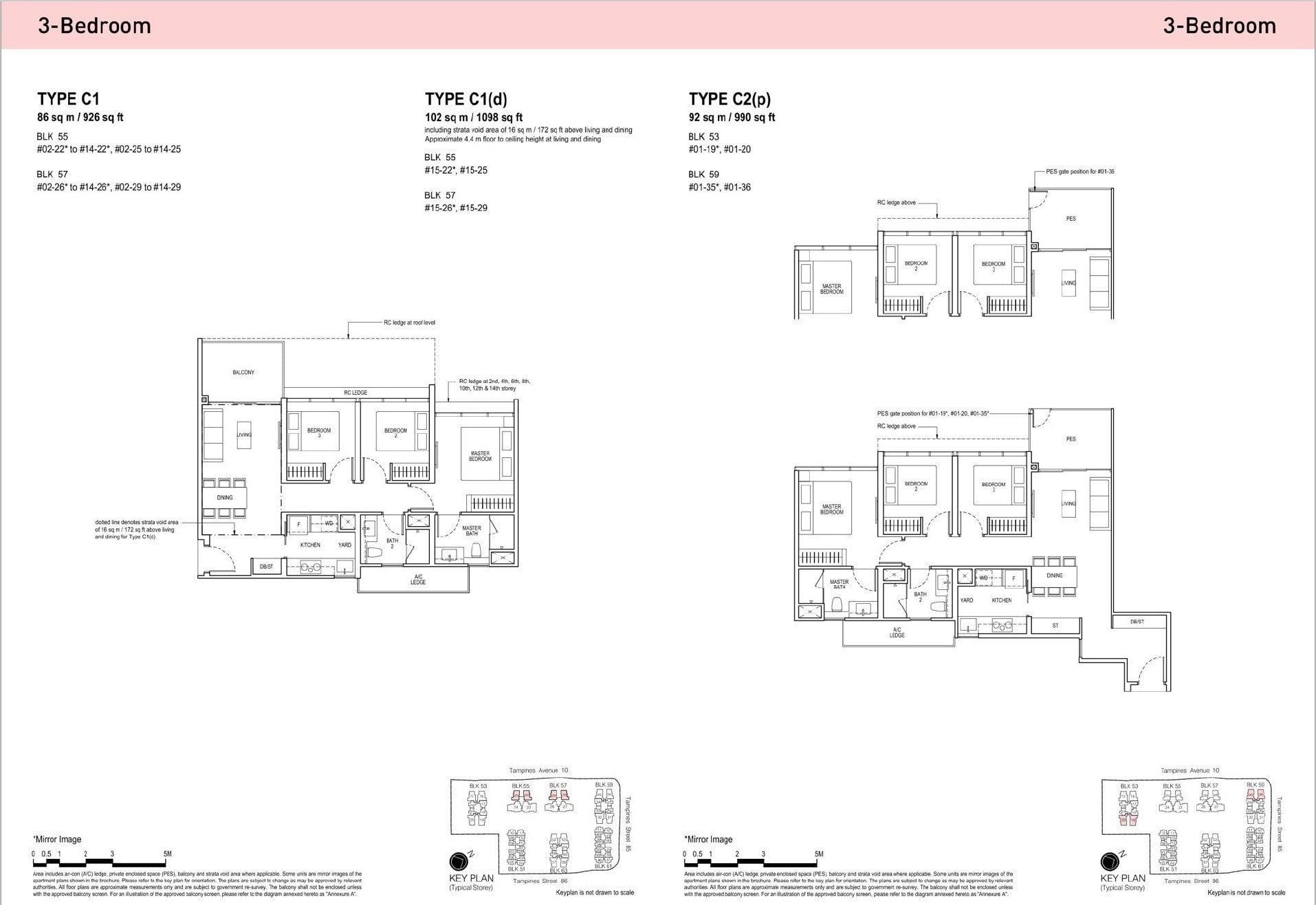 Tapestry-condo-floorplan-3BR - 2
