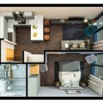Infinity-waters-liverpool-floor-plan-1Bedroom