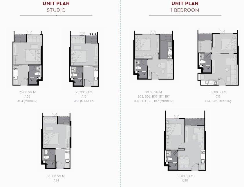 Life-Sukhumvit-62-Bang-Chak-FloorPlan-Studio-1BR