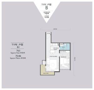 viridea signature soho medini-floor plan-B1