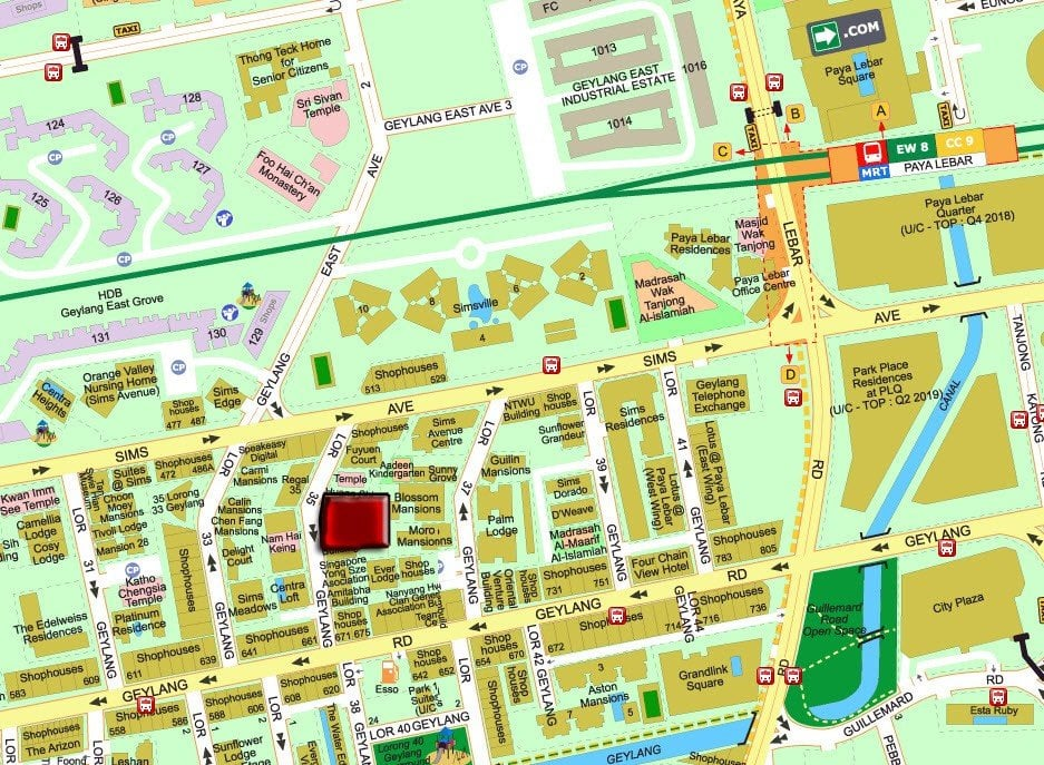 Sixteen-35-Location-Map-in-Geylang-by-Macly-Group