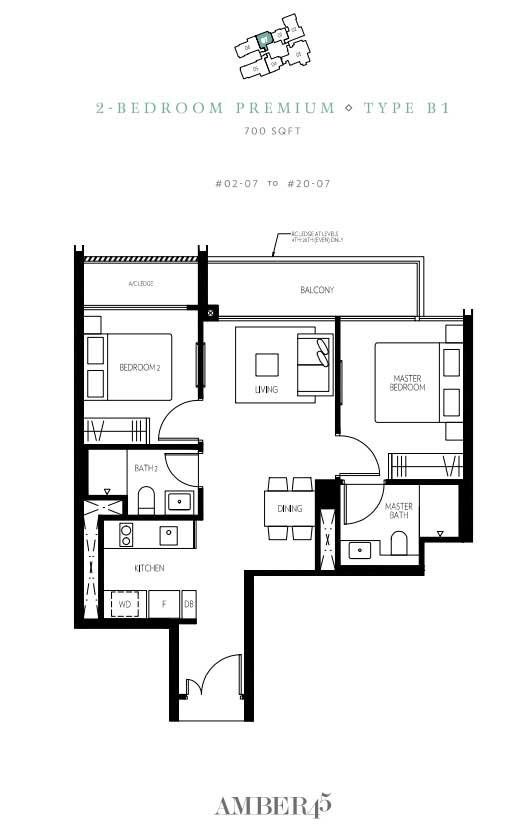 amber-45-2-bedroom