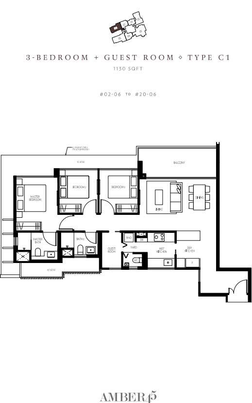 amber-45-3-bedroom