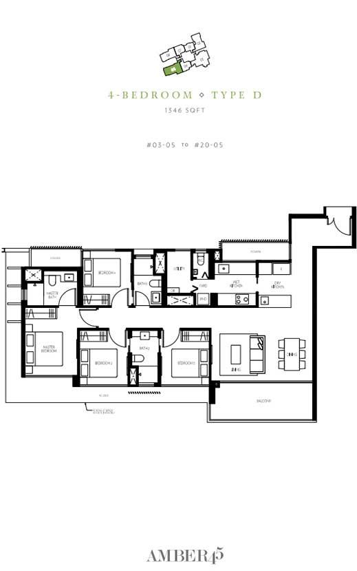 amber-45-4-bedroom