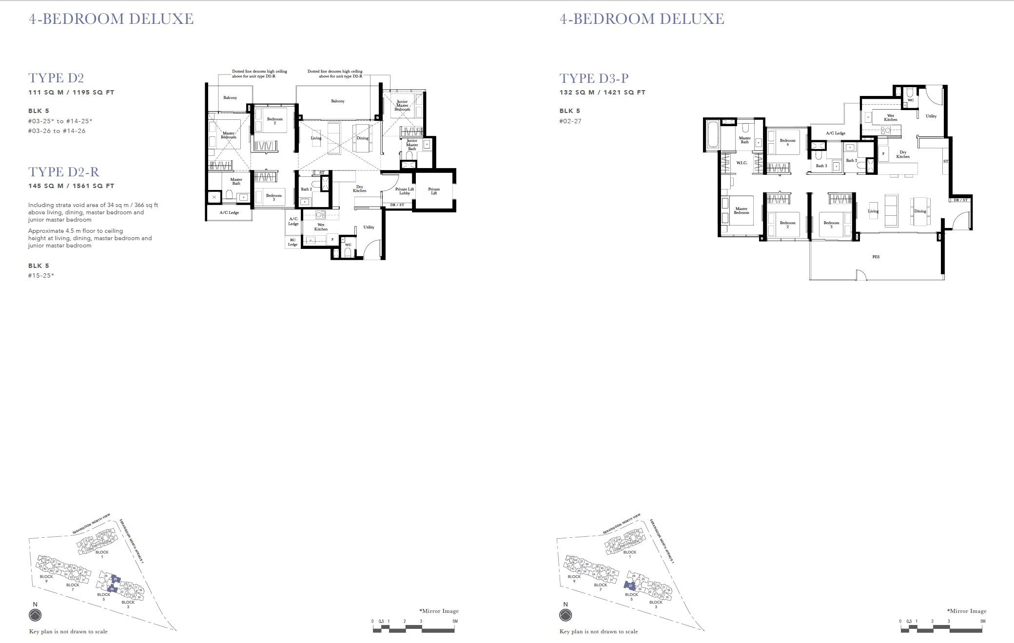 4BR deluxe-the-garden-residences-floor-plan
