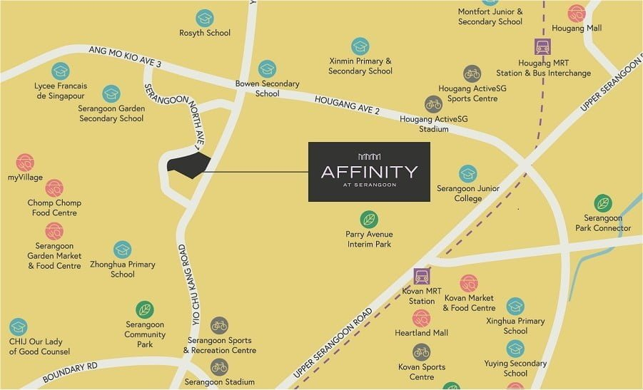 Affinity-at-Serangoon-Location-Map