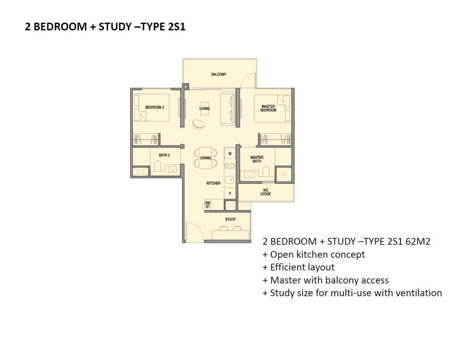 Park-Colonial-2-Bedroom+Study