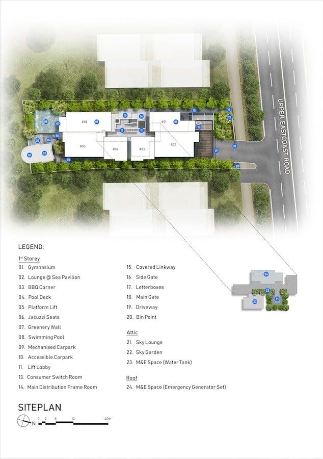 Sea-Pavilion-Site plan