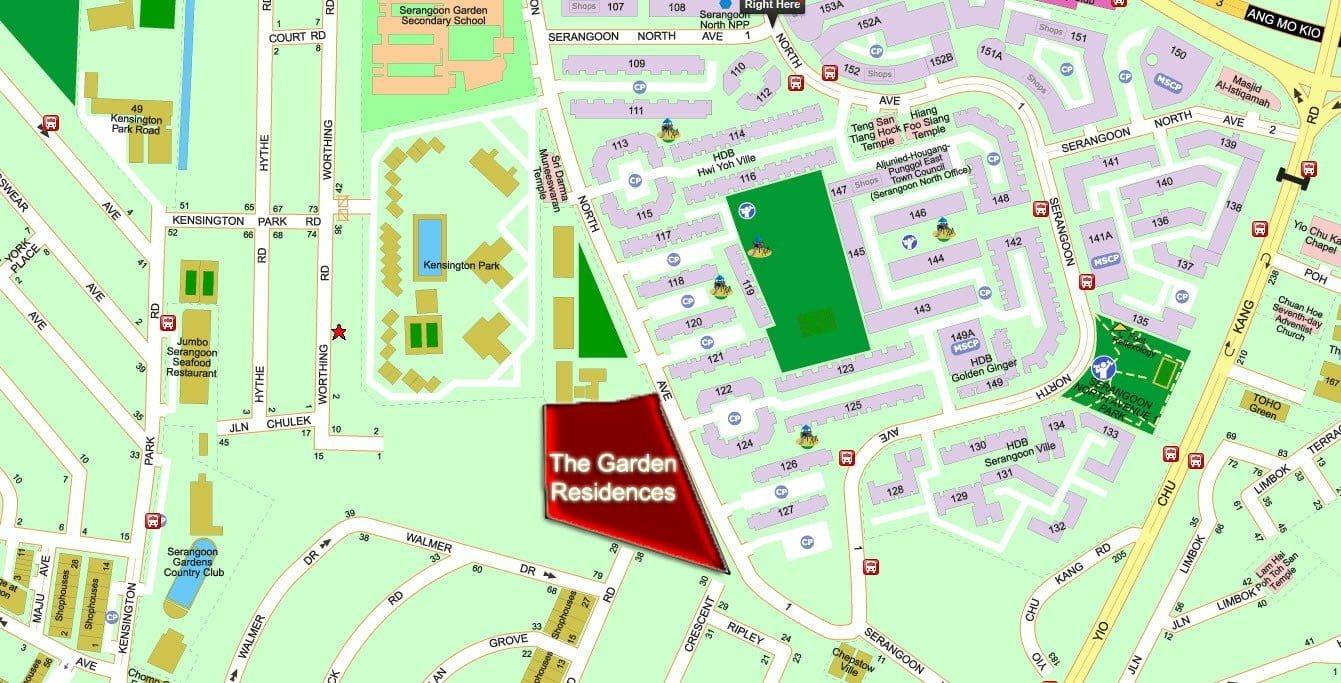 The-Garden-Resideces-Condo-Location-Map-at-Serangoon-North-Avenue-1