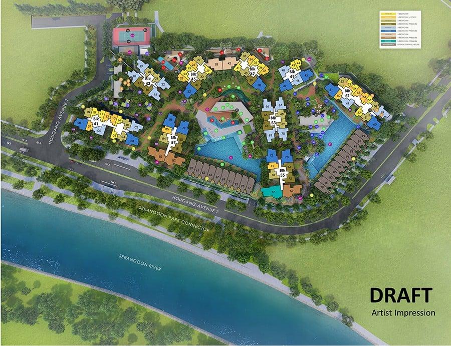 Riverfront-Residences-Site-Plan