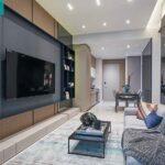 Casa Al Mare Pasir Ris showflat 2Bdrm livingroom