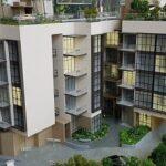 Casa Al Mare Showsuite scale model 2