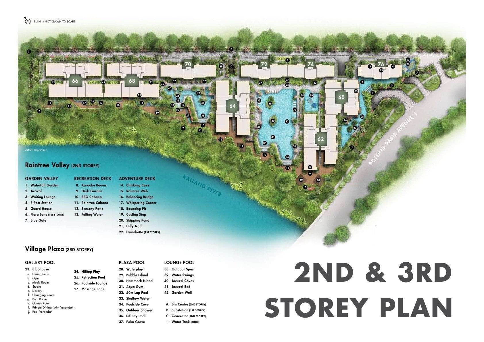 The Tre Ver Site Plan 2nd & 3rd