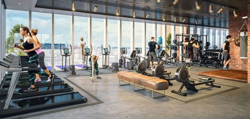 Epic Hotel & Residences Liverpool Elliot - Gym
