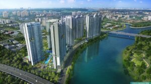 越南胡志明市. The Infiniti Riviera Point @HCMC Vietnam