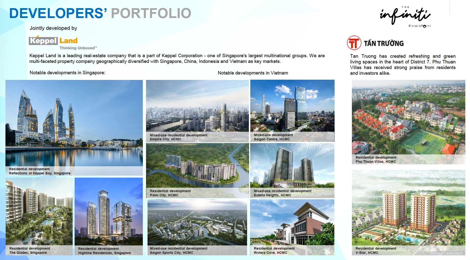 The Infiniti Vietnam-Keppel Land- Developer profile