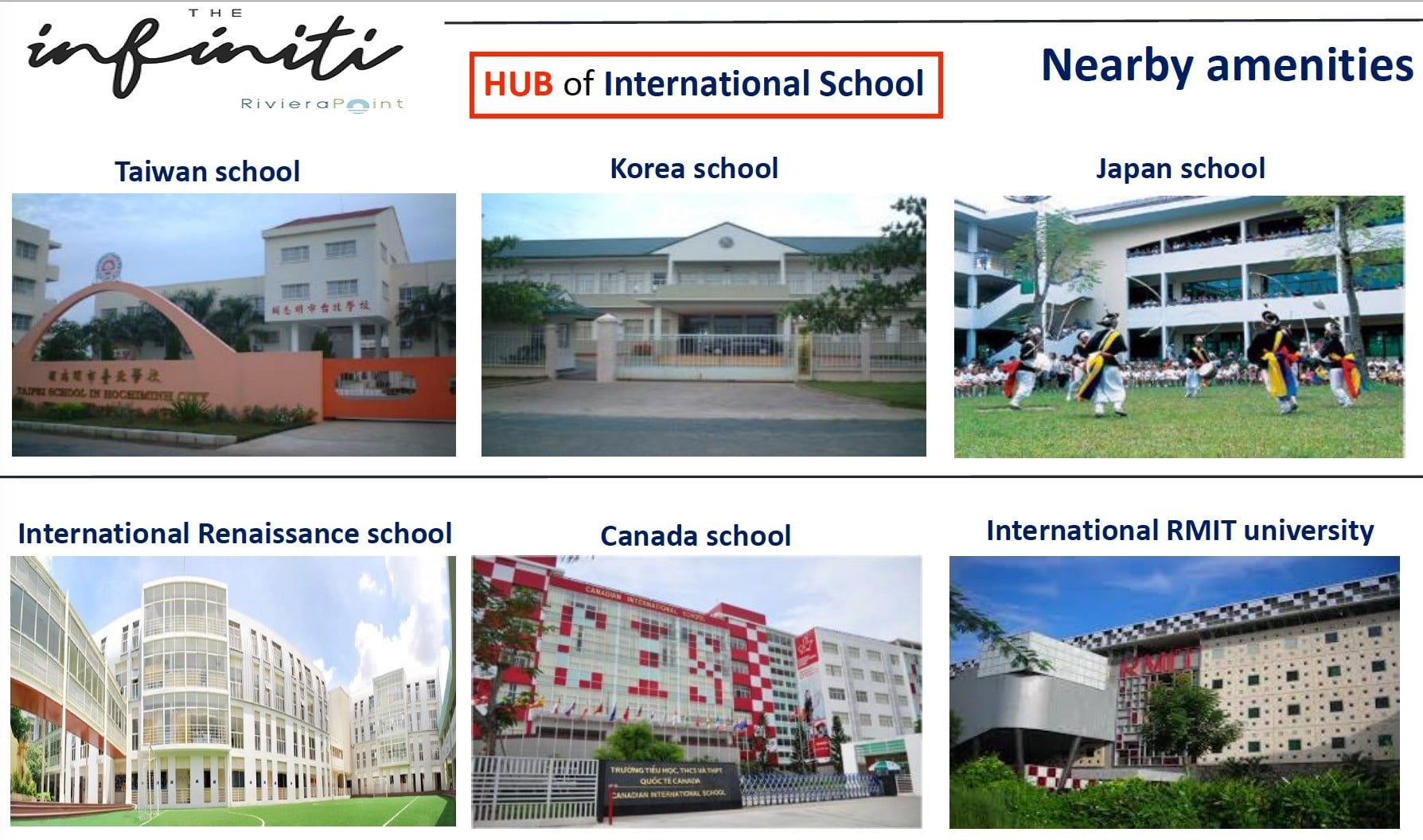 The Infiniti Vietnam School Nearby