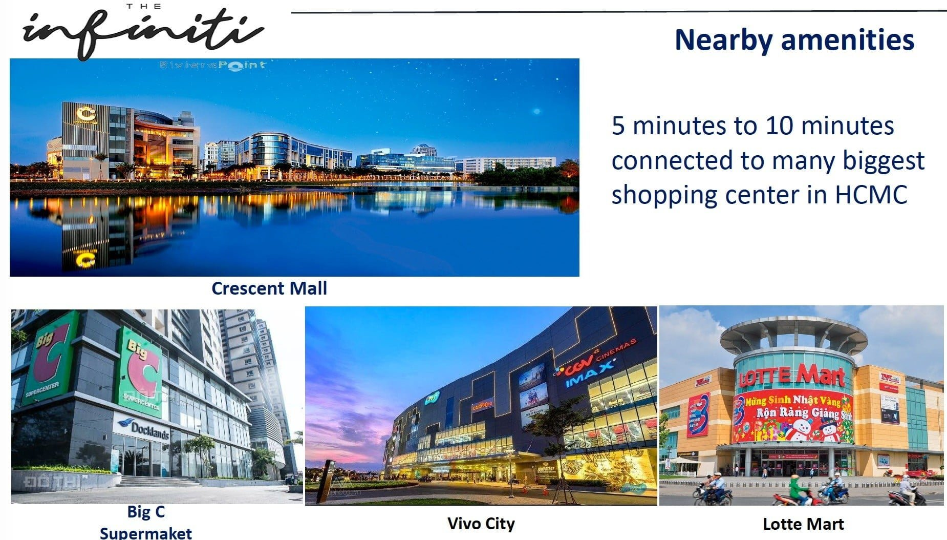 The Infiniti Vietnam Shopping mall Nearby