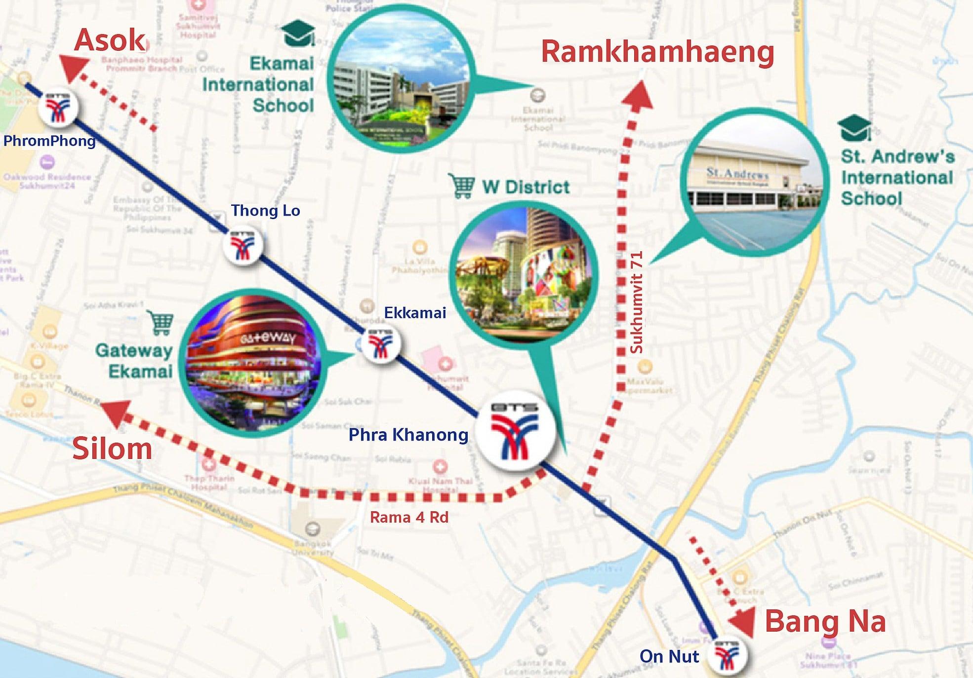 Nest Sukhumvit 71 Bangkok-Shopping Mall