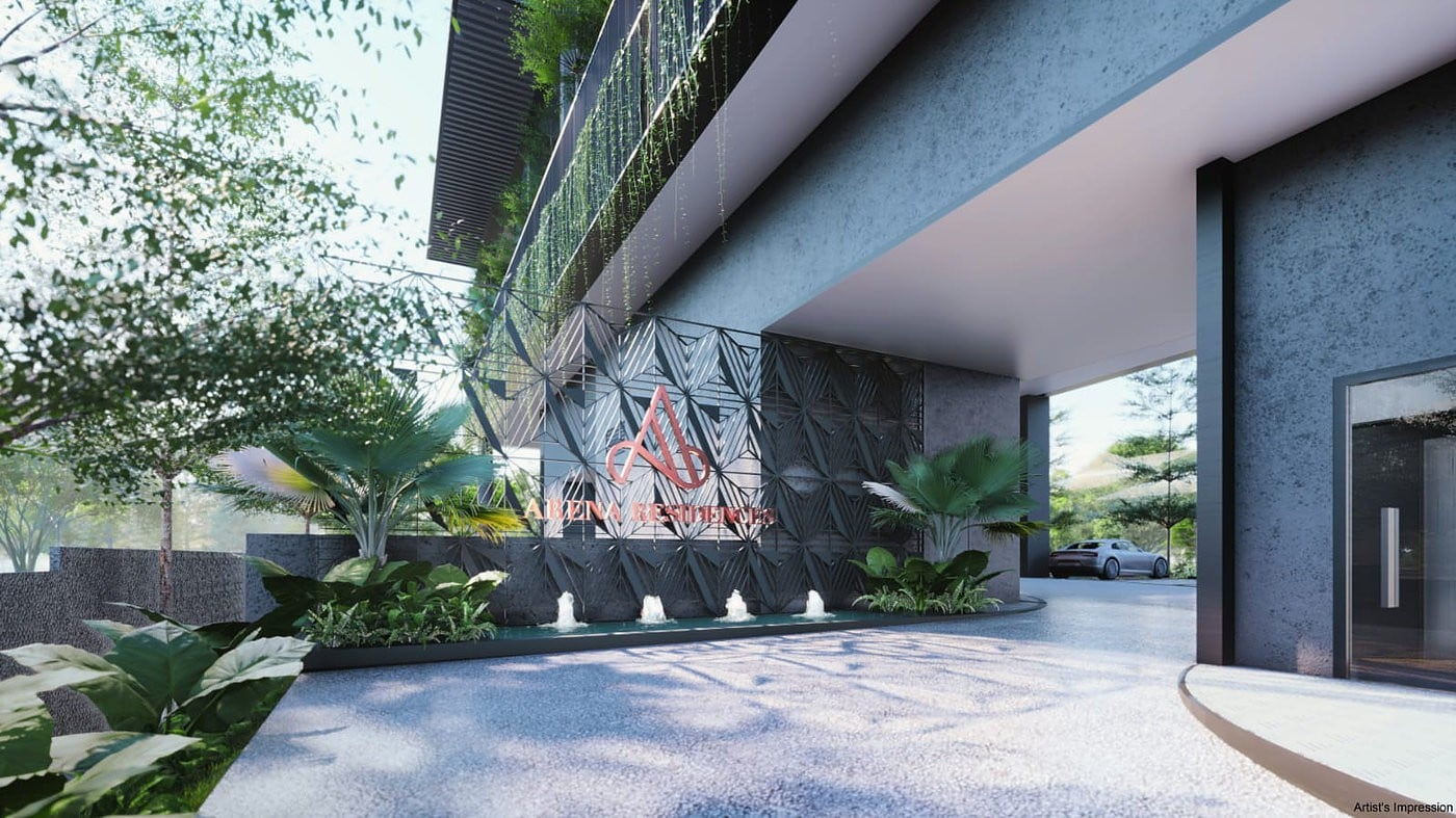 Arena Residences Guillemard - Entrance