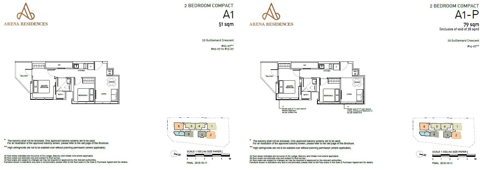 Arena Residences Guillemard - Floor Plan 1