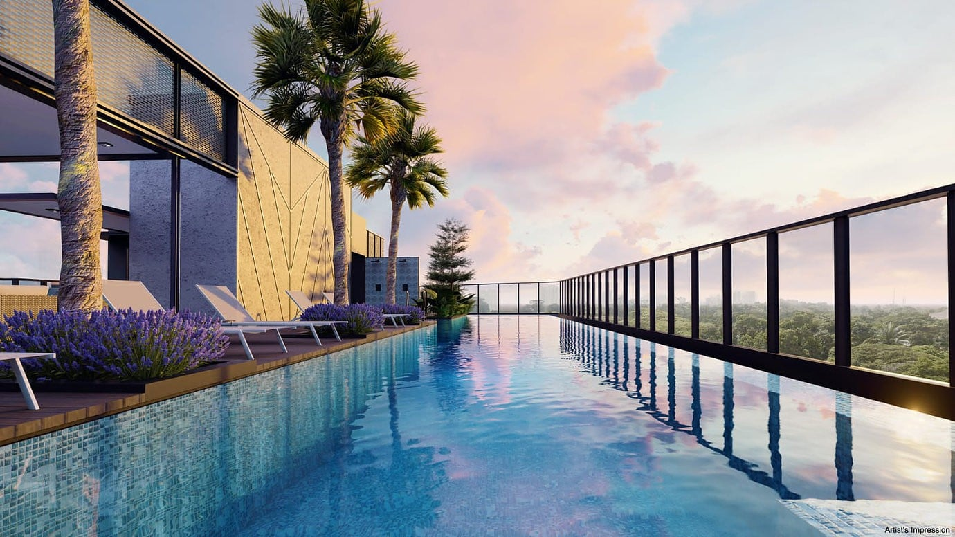 Arena Residences Guillemard - Swimming Pool