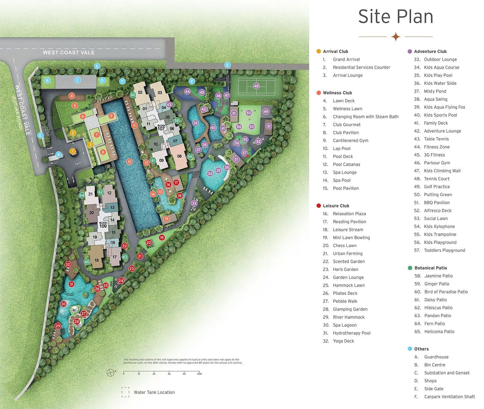 Condo-Whistler-Grand-Site-Plan
