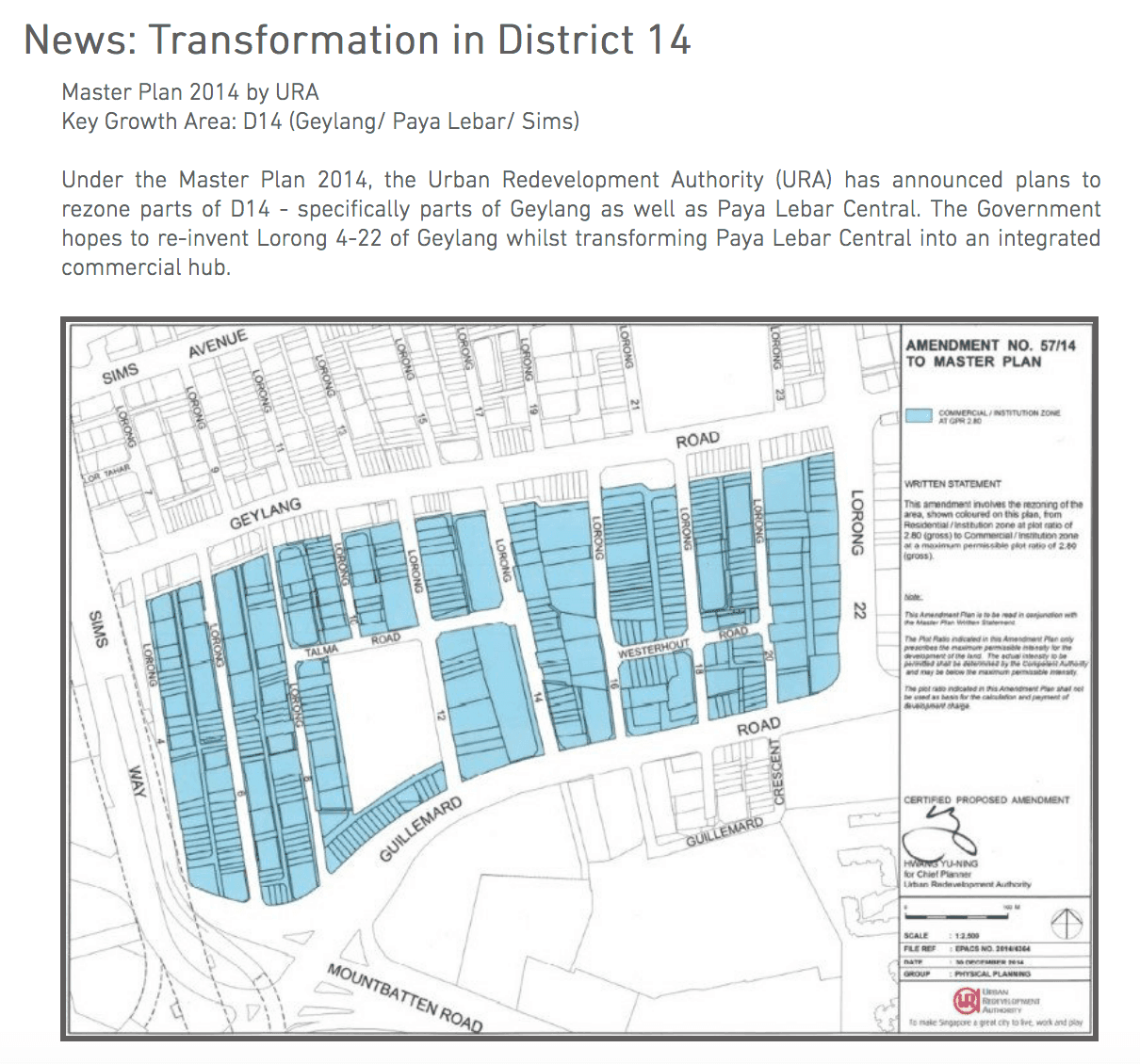 Geylang New Transformation District 14