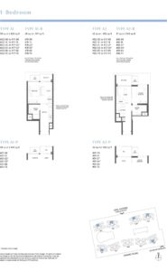 Parc Estat floor plan 1bed