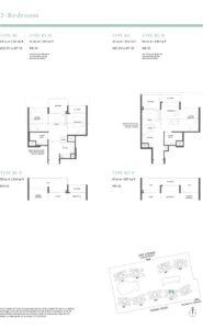Parc Estat floor plan 2BEDROOM